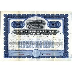 Massachusetts. U.S. Boston Elevated Railway Co.
