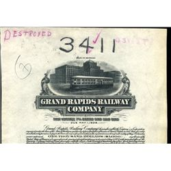 Michigan. U.S. Grand Rapids Railway Company.