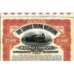 The Grand Trunk Western Railway Co. Bond