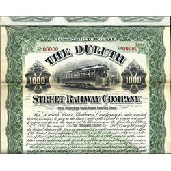 Minnesota. U.S. Duluth Street Railway Co.