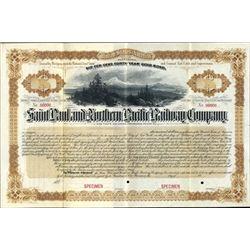 Saint Paul and Northern Pacific Railway Co. Bond