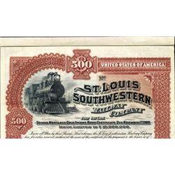Missouri. U.S. St.Louis Southwestern Railway Co.