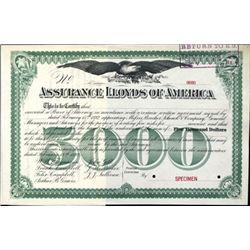 U.S. Assurance Lloyds of America.
