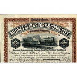 Billings, Clark's Fork & Cooke City Railroad Co.