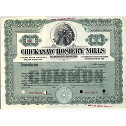 Oklahoma City, OK. U.S. Chickasaw Hosiery Mills.