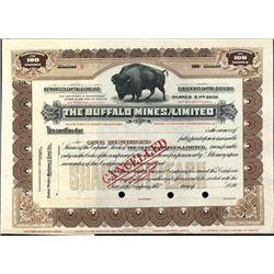 Ontario. Canada Buffalo Mines, Ltd.