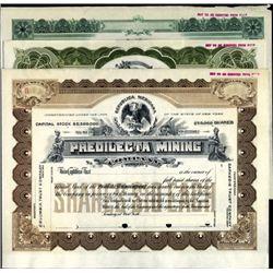 Mexico Mexico Mining & Oil Companies Trio.