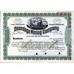 U.S. Onondaga Mining Company.