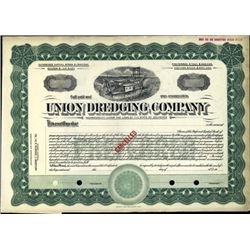 U.S. Union Dredging Company.