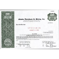 Alaska. U.S. Alaska Petroleum & Mining.