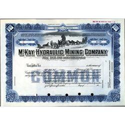Alaska. U.S. McKay Hydraulic Mining Company.