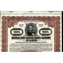 Alaska.  Mother Lode Copper Mines Co. of Alaska
