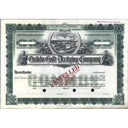 Alaska. U.S. Quibdo Gold Dredging Company.