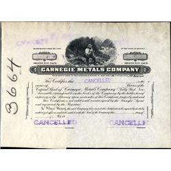 Arizona. U.S. Carnegie Metals Company.