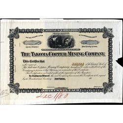 U.S. Takoma Copper Mining Co. Proof