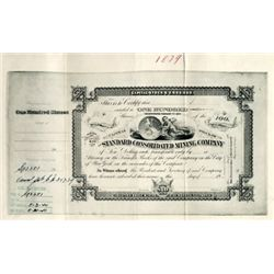 CA.  U.S. Bodie,  Standard Consolidated Mining Co.