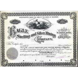 CO. U.S. Eagle Smelting and Silver Mining Company.