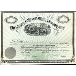 CO. U.S. Midas Silver Mining Company of Colorado.