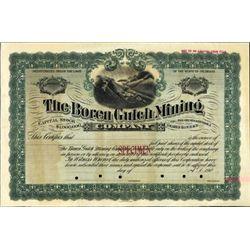 Colorado. U.S. Boren Gulch Mining Company.