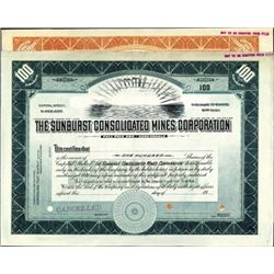 Colorado. U.S. Sunburst Consolidated Mines Corp.