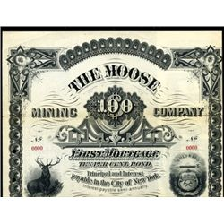 Colorado. U.S. The Moose Mining Co.