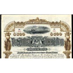 Southern Kansas Railway Company of Texas Bond