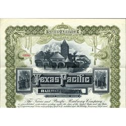 Texas. U.S. Texas and Pacific Railway Co.