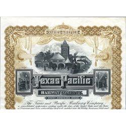 Texas. U.S. Texas and Pacific Railway Company.
