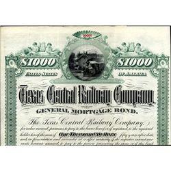 Texas. U.S. Texas Central Railway Co.