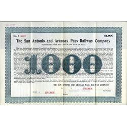 TX. The San Antonio & Aransas Pass Railway Co.