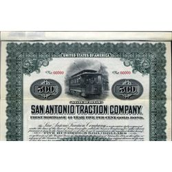 Texas. U.S. The San Antonio Traction Co.