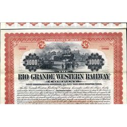 Utah. U.S. The Rio Grande Western Railway Co.