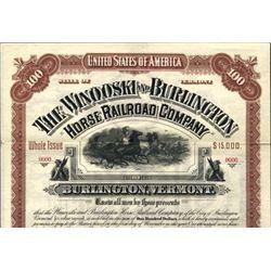 VT. The Winooski and Burlington Horse Railroad Co