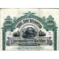 VA. The Richmond Locomotive and Machine Works