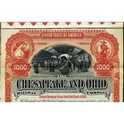 The Chesapeake and Ohio Railway Co. Bond