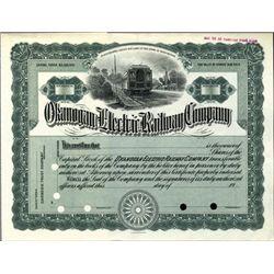 Washington. U.S. Okanogan Electric Railway Co.