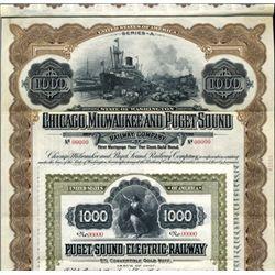Washington. U.S. Puget Sound Railroad Pair.