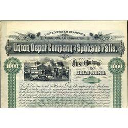 Union Depot Company of Spokane Falls.