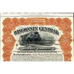 Wisconsin. U.S. Wisconsin Central Railway Co.
