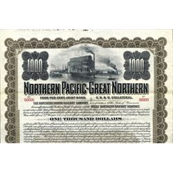 Nothern Pacific-Great Northern Railway Co. Bond