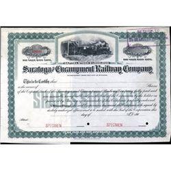 Wyoming. U.S. Saratoga and Encampment Railway Co.