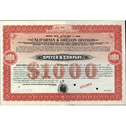 U.S. 3 Western Certificates of Deposit.