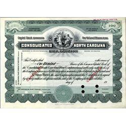 NC.  Consolidated North Carolina Mica Co.