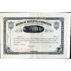 U.S. Bosco Mining Co. Proof.