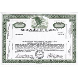Dallas, TX, NY, NY. U.S. Neiman-Marcus Company