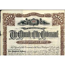 Washington, D.C. U.S. The Church of the Covenant.