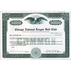 Chicago National League Ball Club -Chicago Cubs