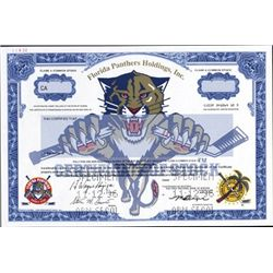Flordia. U.S. Florida Panthers Holdings, Inc.