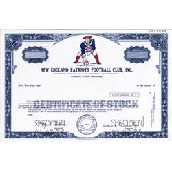 U.S. New England Patriots Football Club, Inc.