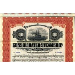 Maine. U.S. Consolidated Steamship Lines.